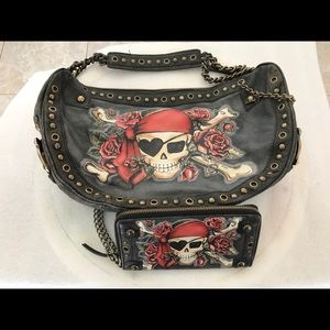 f59f818ab288 Isabella Fiore Bags - Isabella Fiore Buried Treasure Pirate Purse Wallet